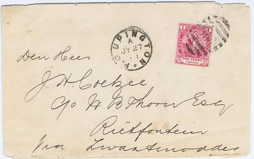 1898 Cape of Good Hope / Bechuanaland