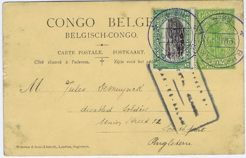 1917 Tanganyika / Belgium Congo Occupation