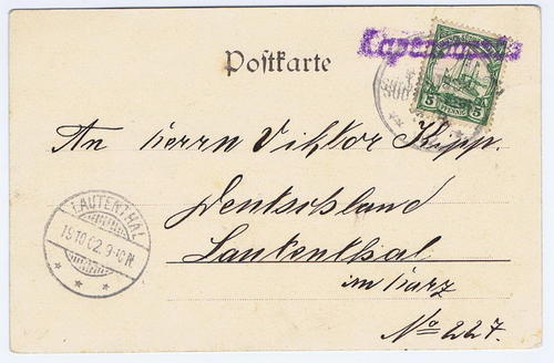 1902 German South West Africa