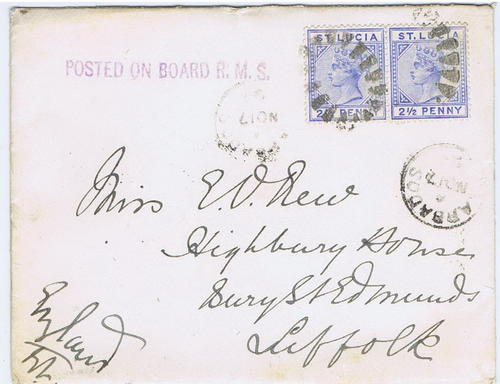 1894 St Lucia