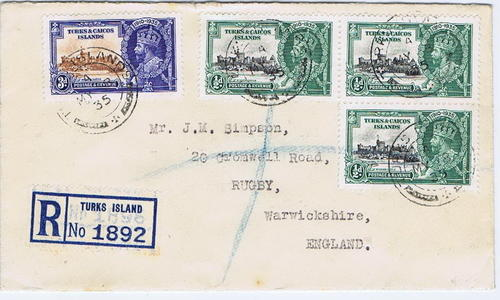1935 Turks and Caicos Islands