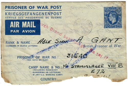 Postal Incident - Bombed mail
